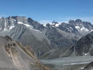 widoki z szlaku Haute Route